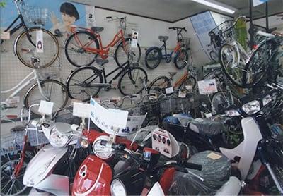 自転車店イメージ